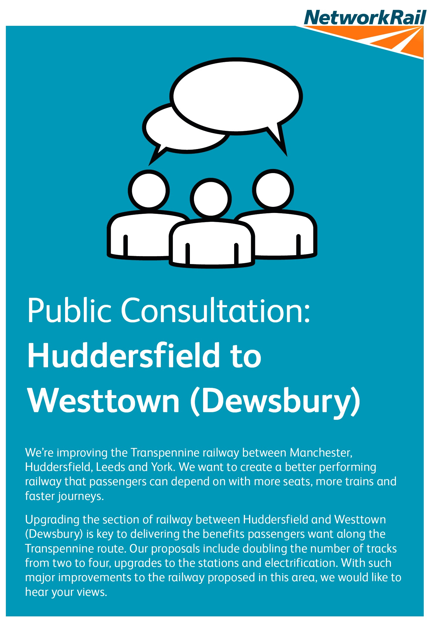 Public consultation on major rail upgrade to begin in West Yorkshire