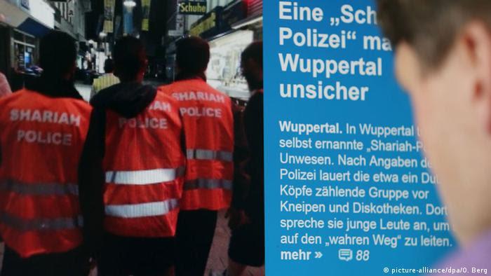 Scharia-Polizei in Wuppertal