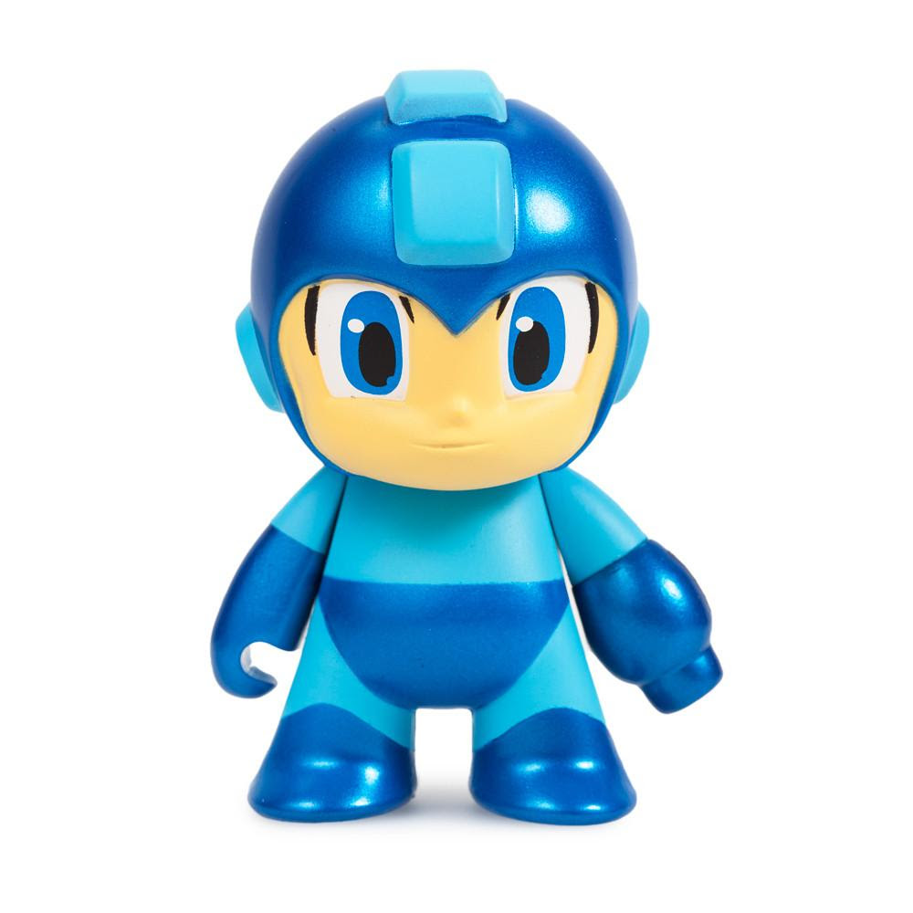 "Metallic Blue Mega Man 3"" Mini Figure by Kidrobot"