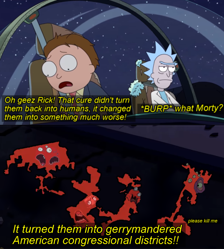 Meme of rick and morty