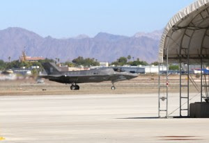 A squadron F-35B seen at Yuma on July 16, 2014. Credit Photo: Second Line of Defense