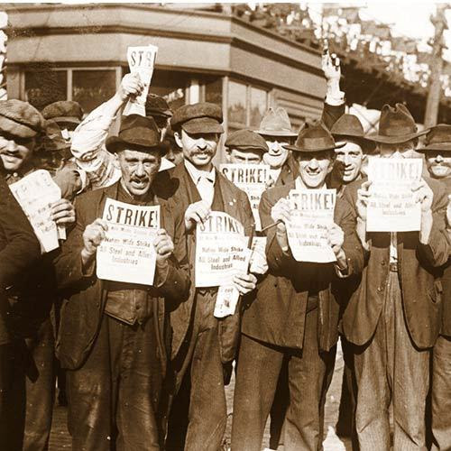 Steel Worker Strike 1919