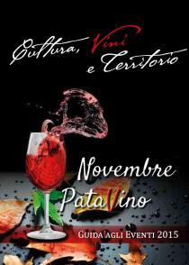 Novembre PataVino 2015-Ciclo di eventi collegati alla Mostra FOOD