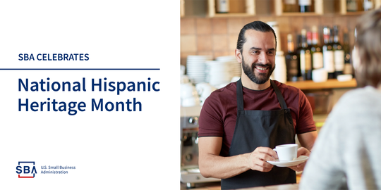 SBA celebrates National Hispanic Heritage Month