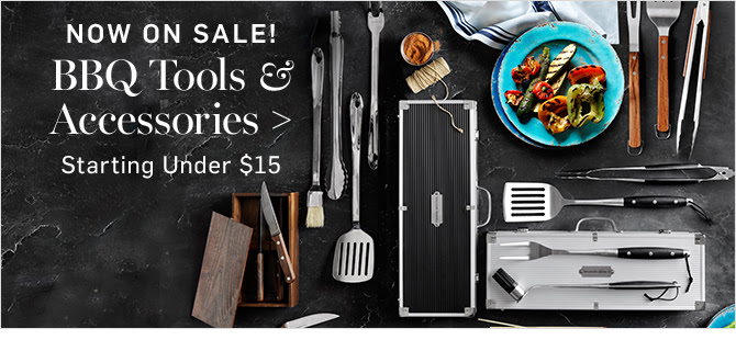 NOW ON SALE! BBQ Tools & Accessories - Starting Under $15