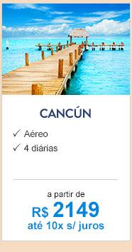 Cancún / R$2149
