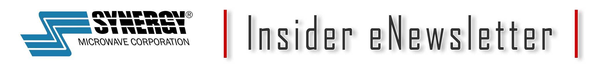 Synergy Microwave Insider eNewsletter