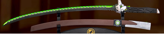 OVERWATCH ULTIMATE GENJI SWORD REPLICA