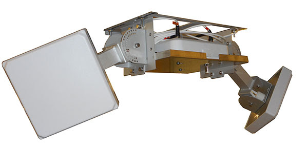 Two-Antenna Co-Locating Mount with Two 18† Strong Arm Mounts