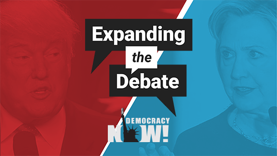 Democracy Now! Expanding the Debate