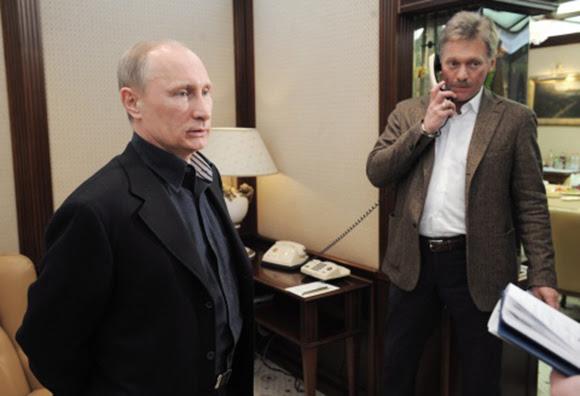 Putin y Peskov