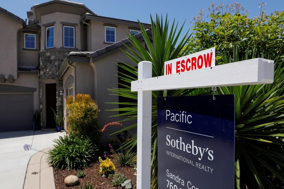 Vivienda unifamiliar a la venta en la localidad californiana de  San Marcos. REUTERS / Mike Blake
