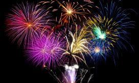 Veterans PTSD Sign Asks for Fireworks Courtesy