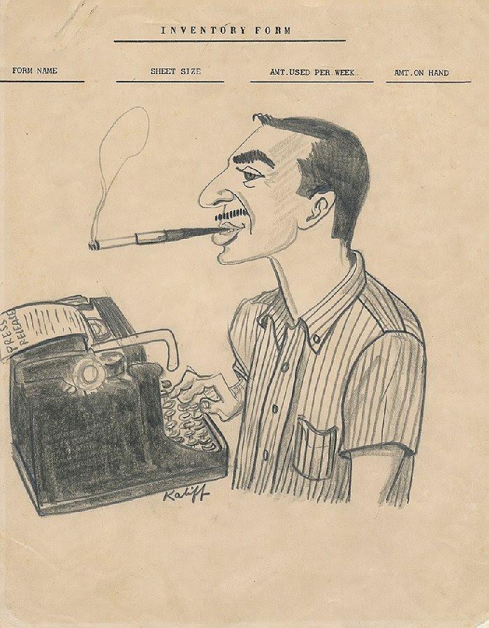 Original 1960s graphic illustration of Charlie