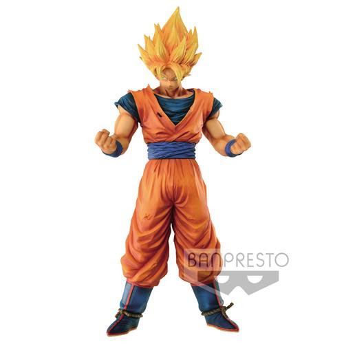 26247 - DRAGONBALL Z - GRANDISTA RESOLUTION OF SOLDIERS - SON GOKU - BANPRESTO STATUA 28CM