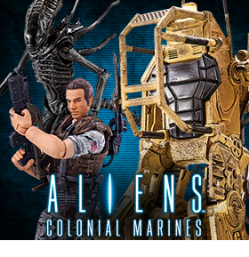 ALIENS: COLONIAL MARINES ACTION FIGURES