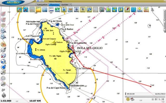 Concordia,  le dernier voyage Isola-del-giglio