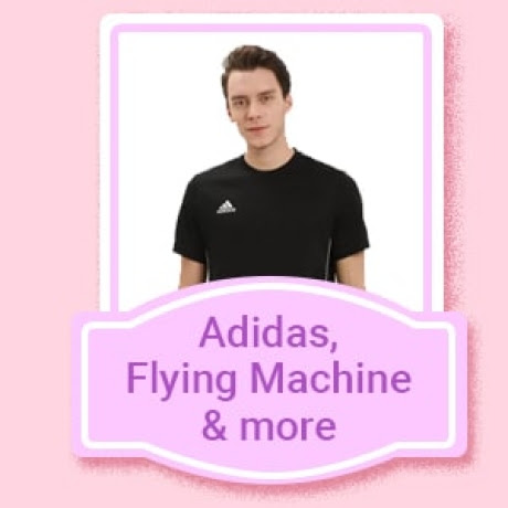 Adidas, Flying Machine & more