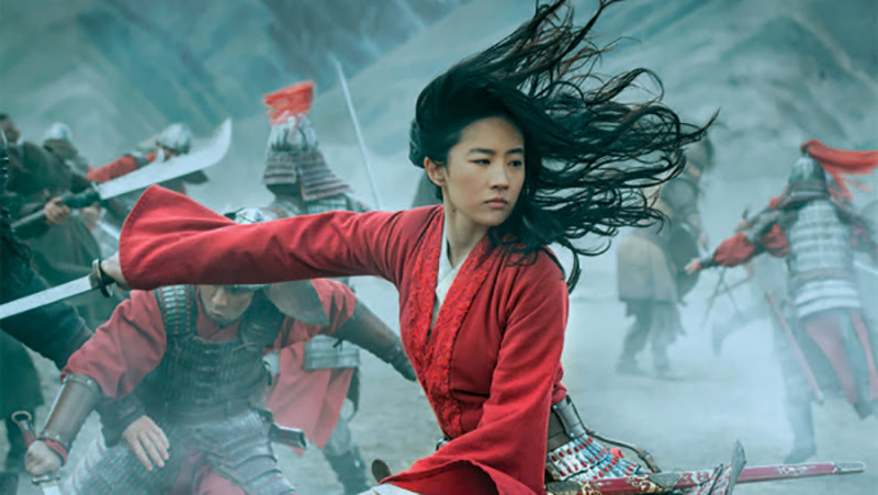 A still photo of live action Mulan
