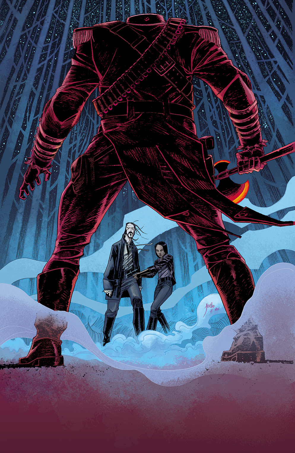 Sleepy Hollow #1 Cover B