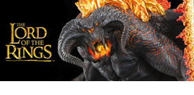 BALROG: DEMON OF SHADOW AND FLAME STATUE