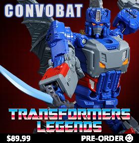 Transformers Legends LG-EX Convobat E-Hobby Limited
