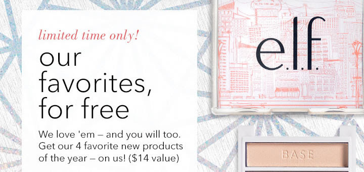 Snag the e.l.f. Cosmetics favo...