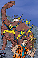 Booster Gold The Flintstones Annual 1