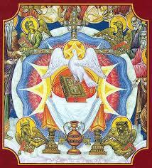 Αποτέλεσμα εικόνας για ὁ ἐν Τριάδι Θεός