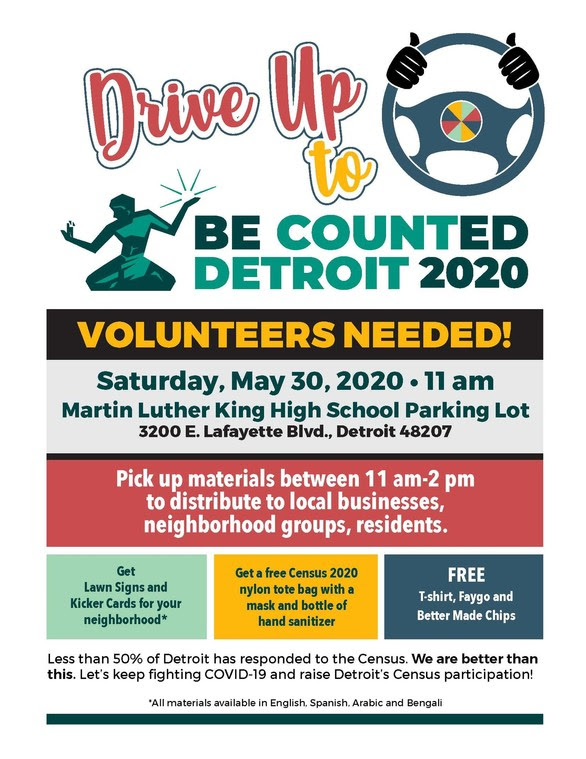 Census Kick-Off Event May 30