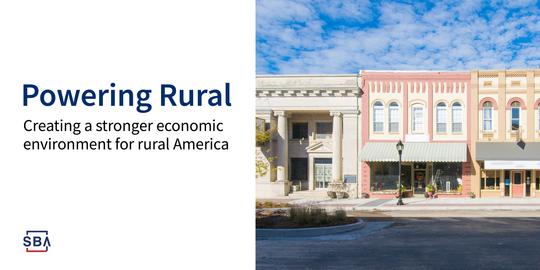 Powering Rural Creating a Stronger Economic Environment for Rural America