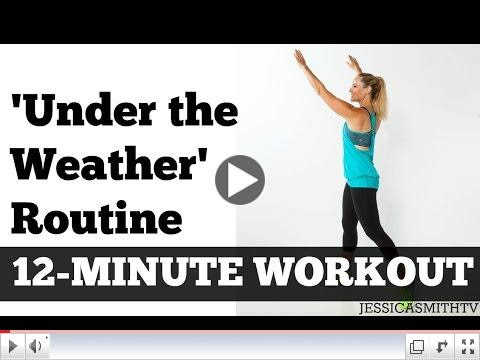 Exercise Video For Working Out While Sick by Jessica Smith TV