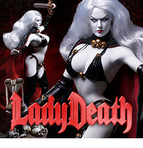 1/6 SCALE LADY DEATH FIGURE