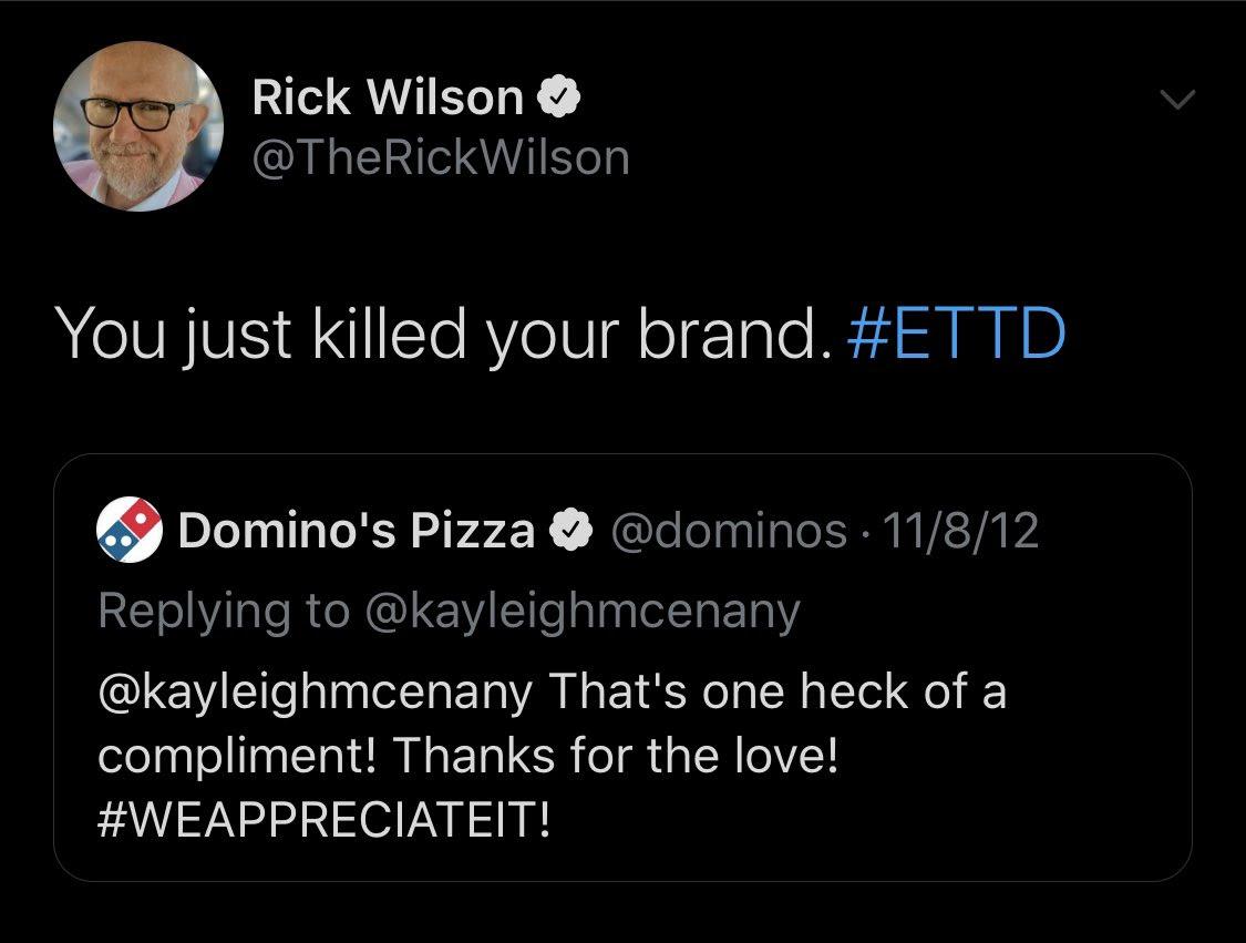 Rick Wilson tweet one