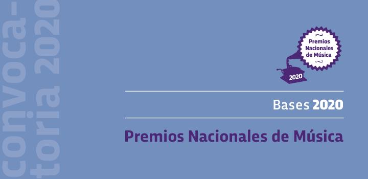 Convocatoria de los Premios Nacionales de Música