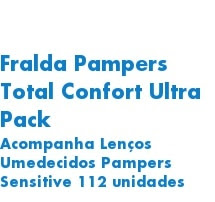 Fralda Pampers Total Confor
