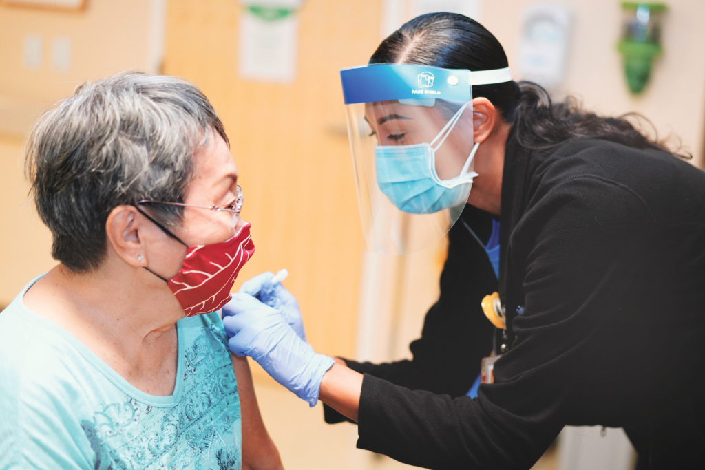 Kaiser Permanente worked with dozens of community organizations to make it much easier for underserved populations to access the COVID-19 vaccination.