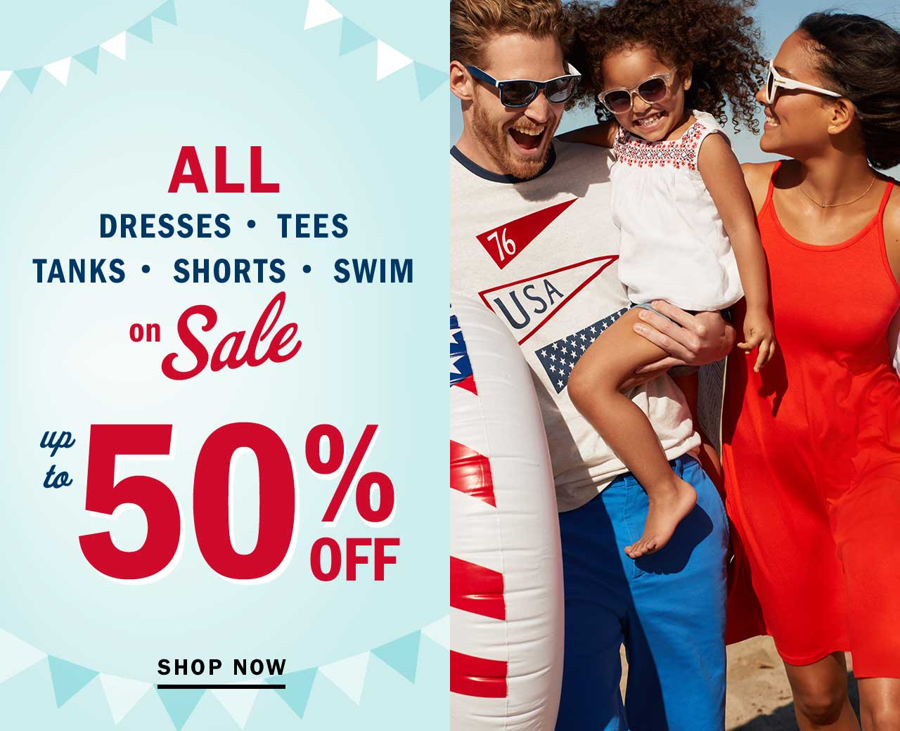 up to 50% OFF | SHOP NOW
