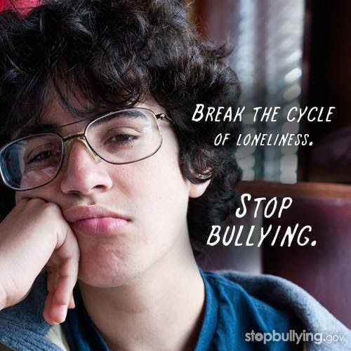 Break the Cycle of Loneliness. Stop Bullying.