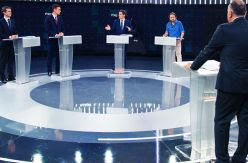 Fortes lucha por sacar a los candidatos de su marco en el primer gran debate de RTVE