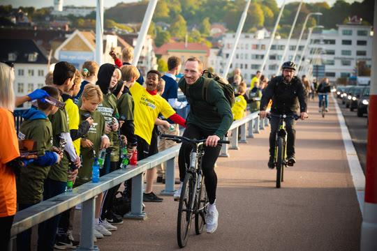 Cyklister hyldes på Limfjordsbroen 6. september