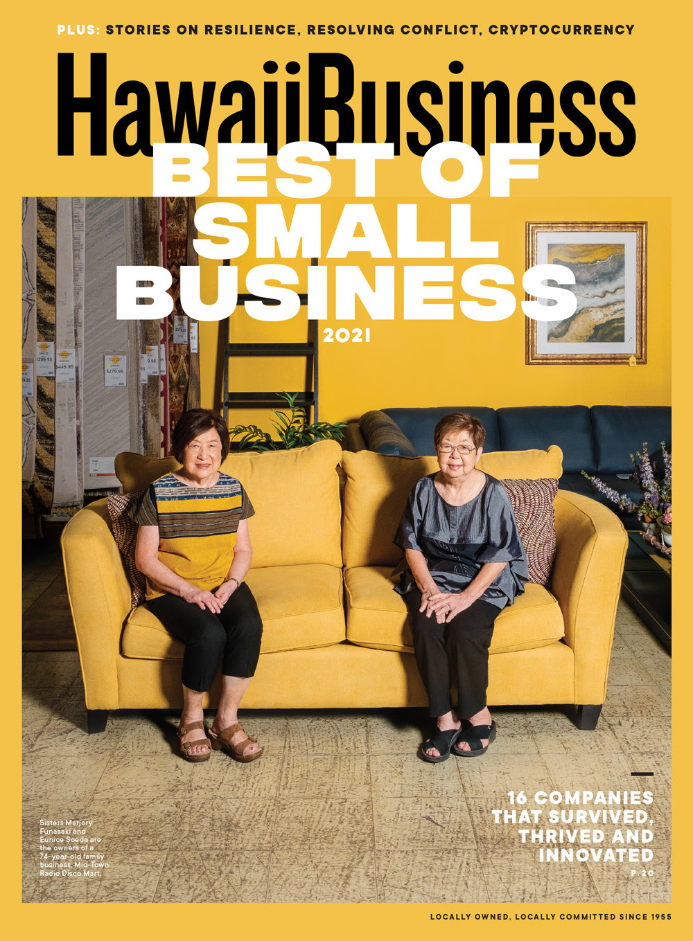 Click here to get your copy of Hawaii Business' May 2021 issue!
