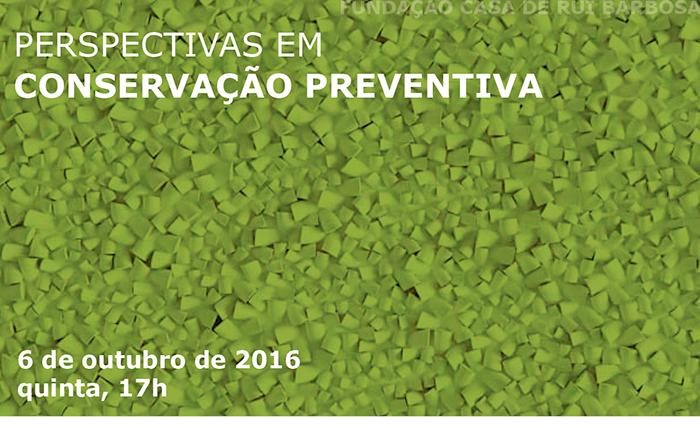 perspectivas em conservação preventiva