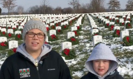 WAAs Youngest Ambassador Visits The National Cemetery Of The Alleghenies