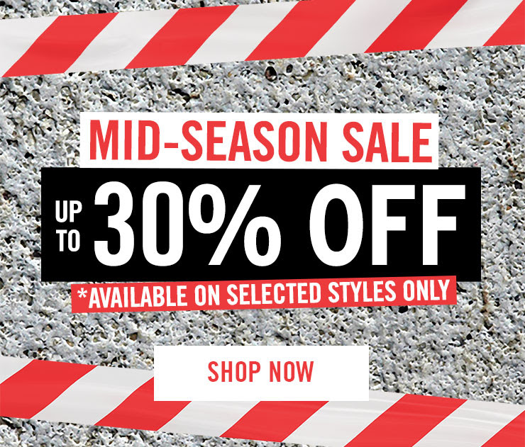 Mid Season Sale - Shop Now