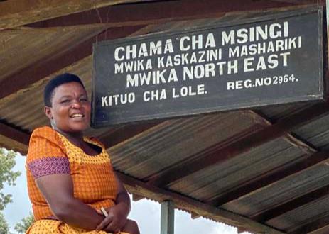 Josephine Kawiche, assistant secretary at Mwika North
