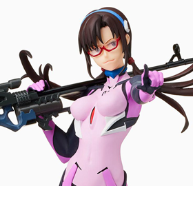 Rebuild of Evangelion Mari With Ultra Long Range Rifle (Theatrical Edition) Limited Premium Figure