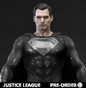 Zack Snyder's Justice League Museum Masterline Superman (Black Suit) 1/3 Scale Limited Edition Statue