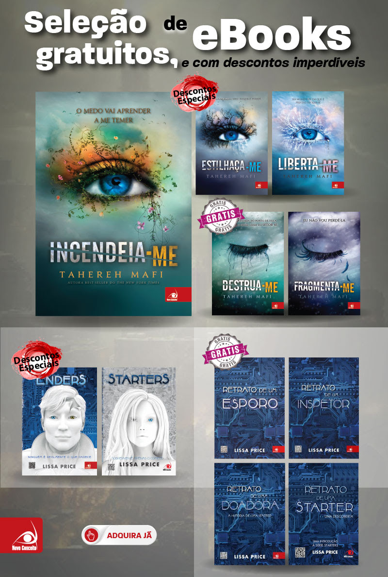 Seleção de eBooks gratuitos, e com descontos imperdíveis!