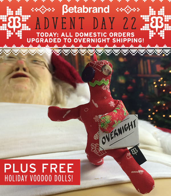 Free: Overnight-Shipping Upgrade & Voodoo Dolls
